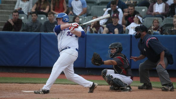 Pearl River's Joe Sassanoduring the Class A baseball