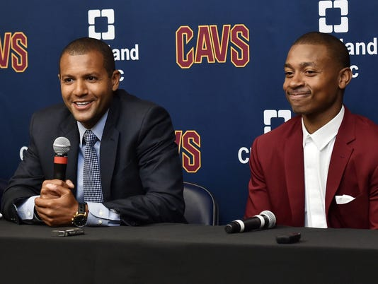 USP NBA: CLEVELAND CAVALIERS-PRESS CONFERENCE S BKN USA OH