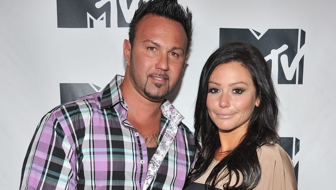 "Roger Mathews and Jenni ""JWoww"" Farley: Happily ever after."