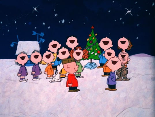 CHARLIE BROWN Christmas son