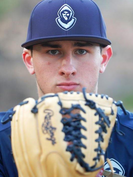 Joe Gatto with glove