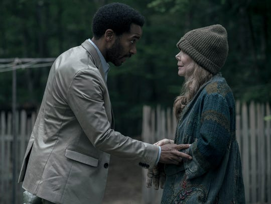 Henry Deaver (Andre Holland) looks out for his mother