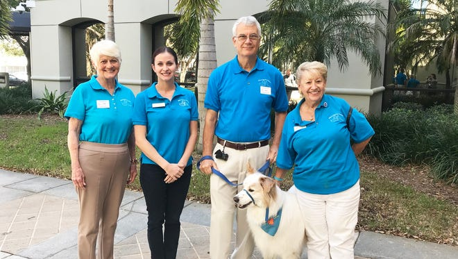 Members of Misty's Pals: Dianne Robinson, Jessie Clifford, Bill Strachan & Spencer, and Joan Dutton.