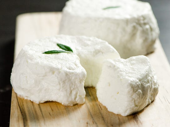 City Goat Cheese from Zingerman's.