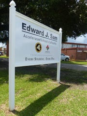 The Edward J. Sam Accelerated School of Lafayette opened Monday.