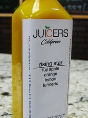 Juicers Coldpress has 12 flavors of juice available,