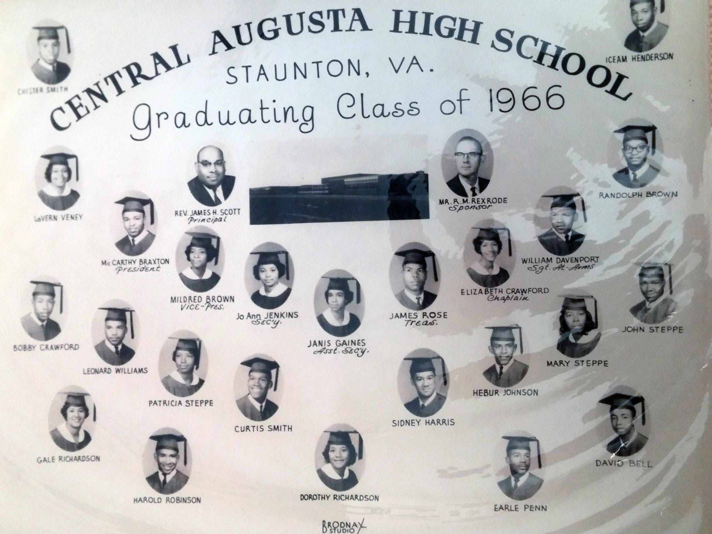 Among those graduating from Central Augusta High School in 1966 was Leonard Williams.
