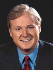 --** FILE ** ``Hardball'' host Chris Matthews is shown in an undated publicity photo. Matthews has signed a new contract that keeps him at MSNBC through 2009 and moves his nightly political talk show to 9 p.m. Eastern. (AP Photo/CNBC)