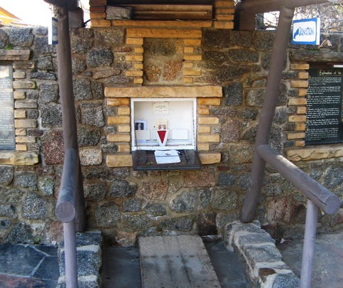 Several hundred dollars was stolen from the shrine, according to the Yavapai County Sheriff's Office.