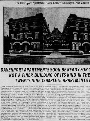 An article in The News on Aug. 24, 1915.