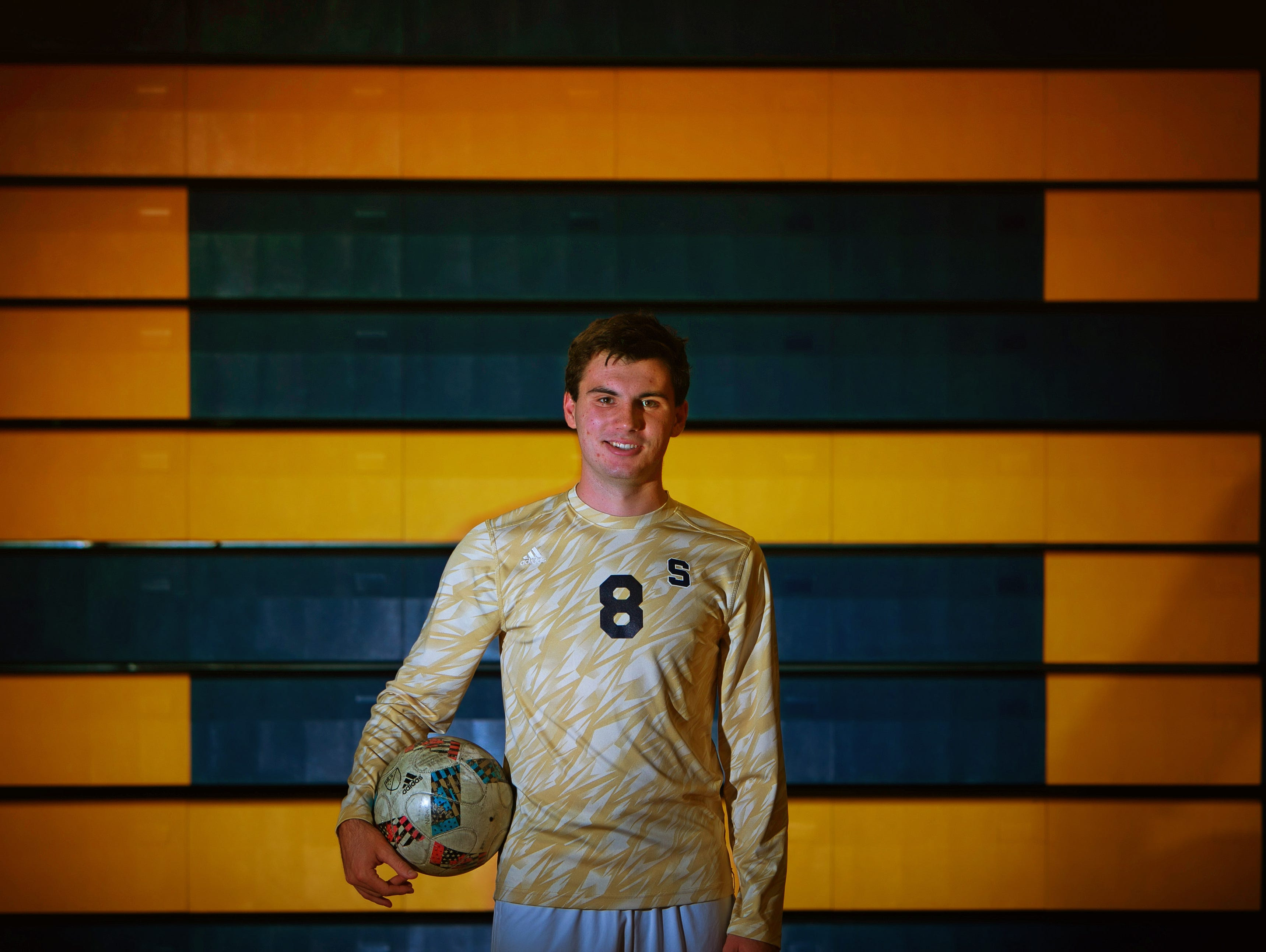 Player of the Year, Jason Blackwell of Salesianum.