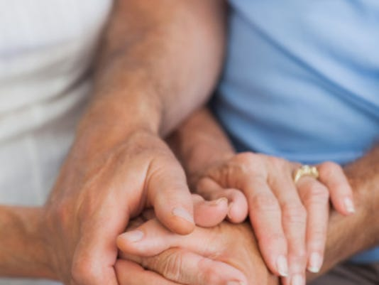 """""""I wanted to make sure she got well,"""" he said. """"We have a lot of things we want to see and do yet.""""  Beyond the practical reasons, there's a much simpler one.  """"It was because this is the love of my life,"""" he said."""