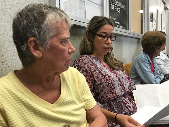 Irma Santiago, left, and her daughter, Irma Karpyszyn,