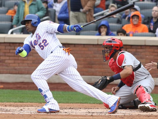 St. Louis Cardinals vs New York Mets -- Opening Day --