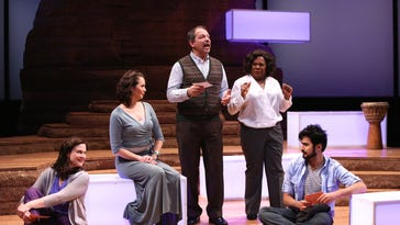 This spring, Jessica Wortham, Larissa FastHorse, Gilbert Cruz, Tina Fabrique and Fajer Al-Kaisi starred in Geva Theatre Center's production of Informed Consent.