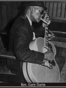 The Rev. Gary Davis influenced countless musicians.