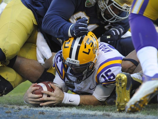 NCAA Football: Music City Bowl-Notre Dame vs Louisiana State