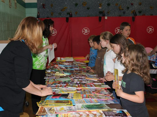 "Weston Elementary students receive free books at ""Soar"