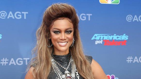 Tyra Banks arrives at the 'America's Got Talent' Season
