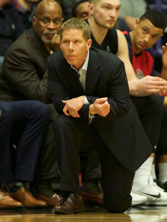 USP NCAA BASKETBALL: GONZAGA AT PORTLAND S BKC USA OR