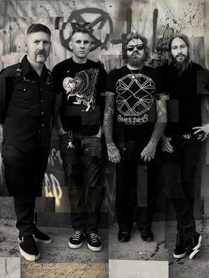 Mastodon will play the Fillmore Detroit on Friday.