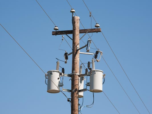 Power Utility Pole