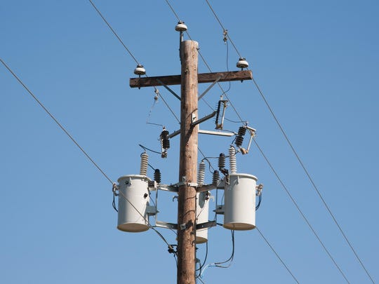 NorthWestern Energy is urging people not to shoot at power poles.