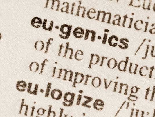 Dictionary definition of word eugenics