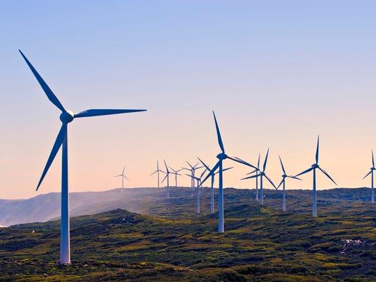 A western Australia wind farm.