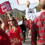 #RedForEd: How Arizona's movement went from red T-shirts to a walkout