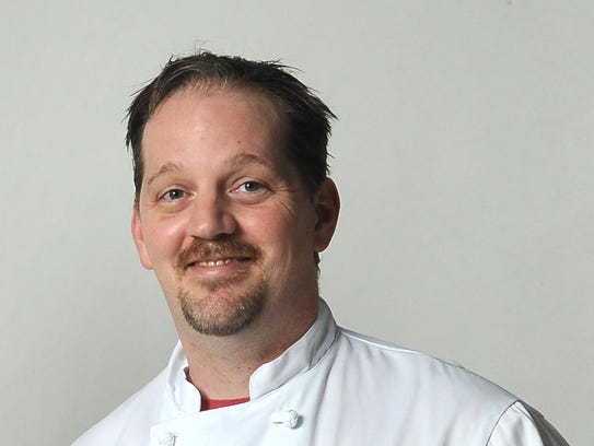 Chef Ben Deinken, who has cooked at several local
