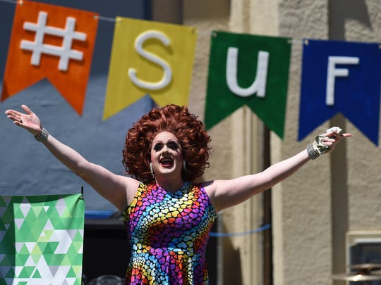 Sioux Falls Pride Festival at Terrace Park on Saturday,
