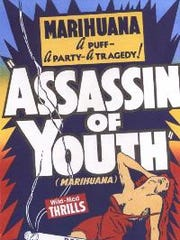 """A poster for the 1937 film """"Assassin of Youth."""""""