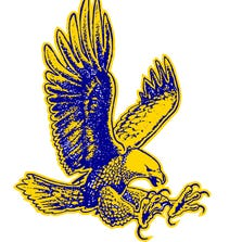 The Hartland Eagles sports logo.