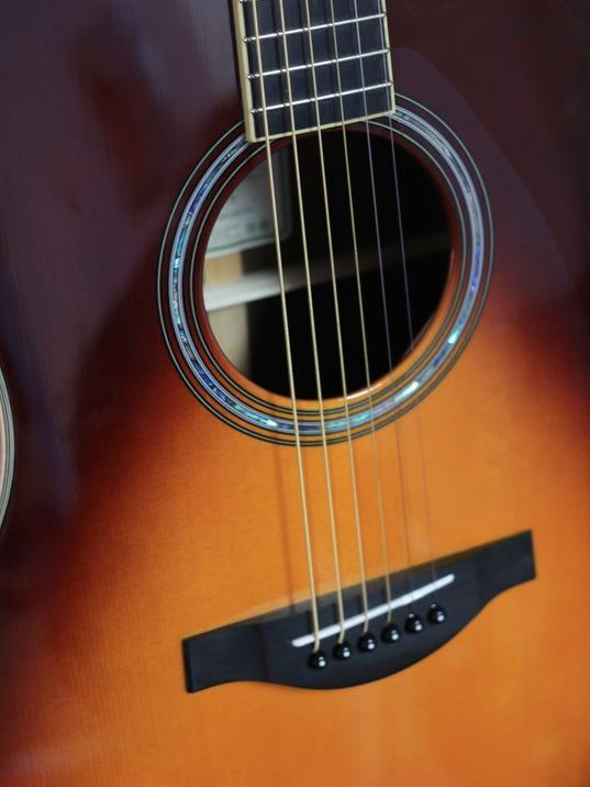Yamaha Guitar Makes Electric Sounds Acoustically