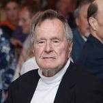 George H.W. Bush to vote for Clinton, reports say