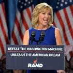 Kelley Ashby Paul is the wife of GOP Sen. Rand Paul of Kentucky. (Michael B. Thomas, AFP/Getty Images)