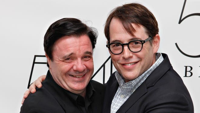 Bialystock (Nathan Lane) and Bloom (Matthew Broderick) coming soon to another theater new you.