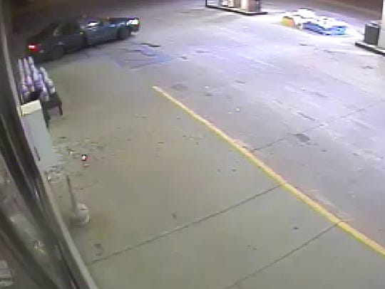 Police believe this vehicle was used in a robbery of