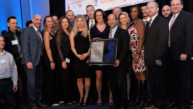 AvalonBay won 20 awards at the recent convention for the New Jersey Apartment Association, including Property Management Company of the year.