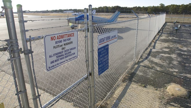 A 2009 file photo of the Lakewood Airport.