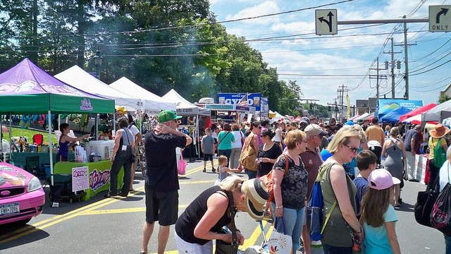 The first annual Nanuet street fair was held in 2014