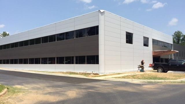 Balcrank has moved from its old location on Reems Creek Road to this new building on Monticello Road in Weaverville.