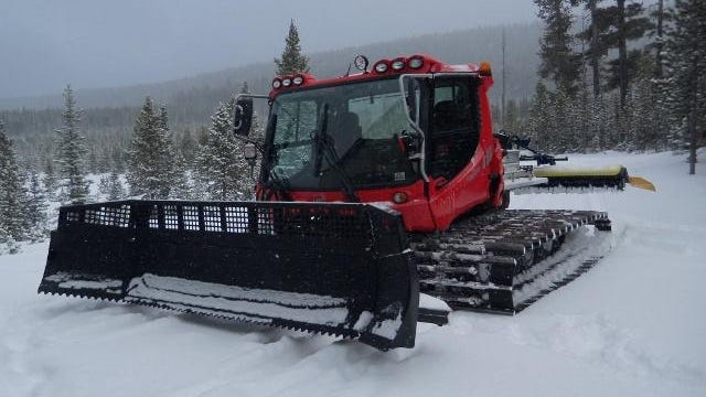 The King's Hill Grooming Association, in partnership with the Great Falls Snowmobile Club, Meagher County Little Belters, Montana Snowmobile Association and Montana Fish, Wildlife and Parks has announced the arrival of a new snowmobile trail groomer for Silver Crest area of the Little Belt Mountains.