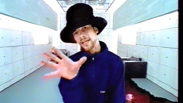 DATE TAKEN: 1997--- A scene from the Jamiroquai video Virtual Insanity which is nominated for best video and best new artist for the MTV Music Video Awards ORG XMIT: UT53534