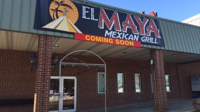 El Maya is a new restaurant coming soon to the Prices Shops shopping center at 1300 Centerville Road.