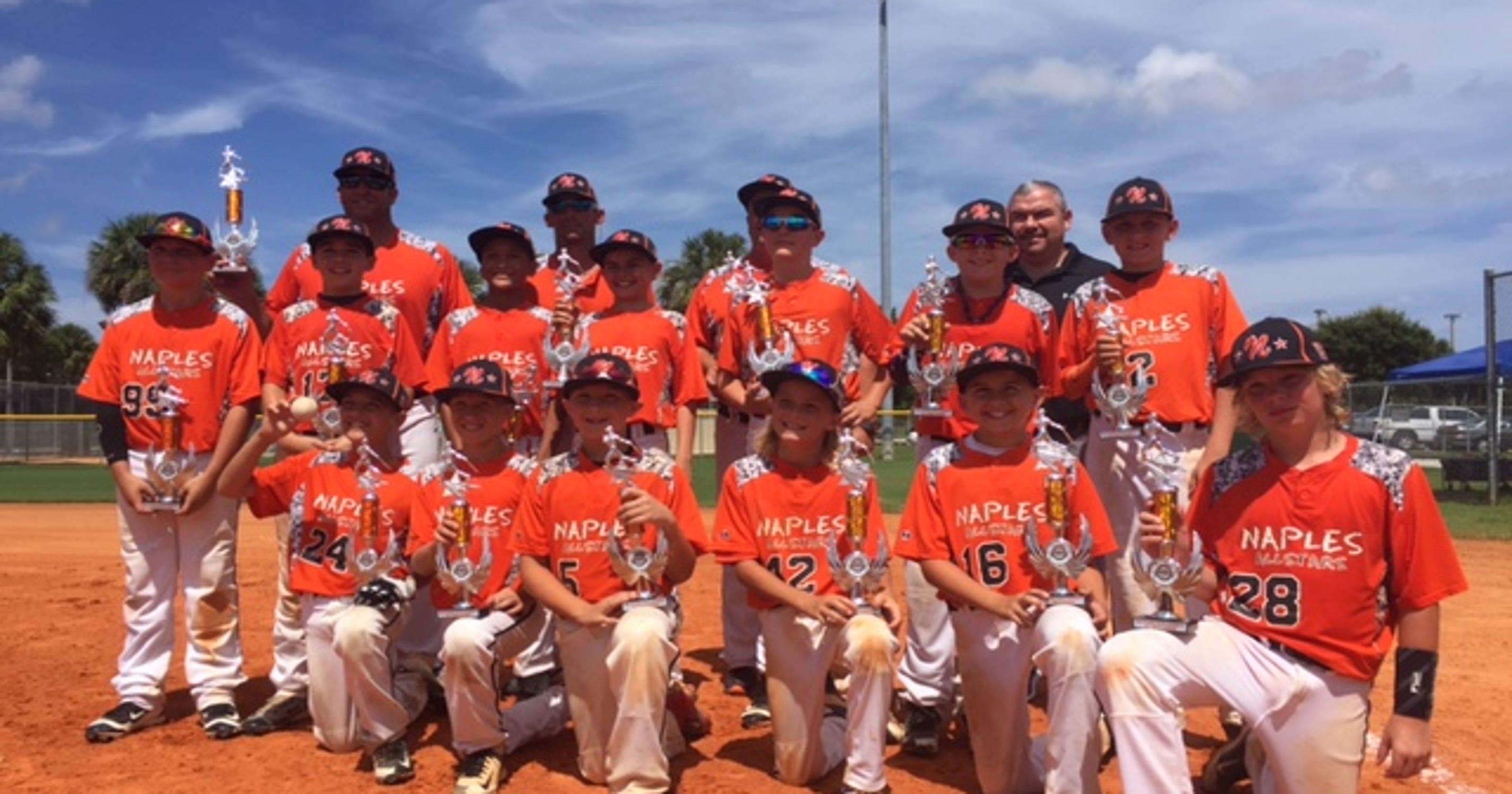 Naples Cal Ripken 11u Takes Second in State Tournament