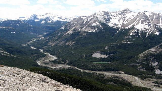 The 130,000-acre Badger-Two Medicine area sits between the boundaries of Glacier National Park, the Bob Marshall Wilderness and the Blackfeet Indian reservation. It is part of the Traditional Cultural District and is a sacred area to the Blackfeet Tribe.