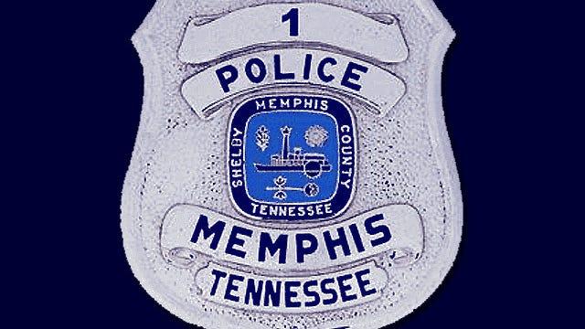 A Memphis police badge
