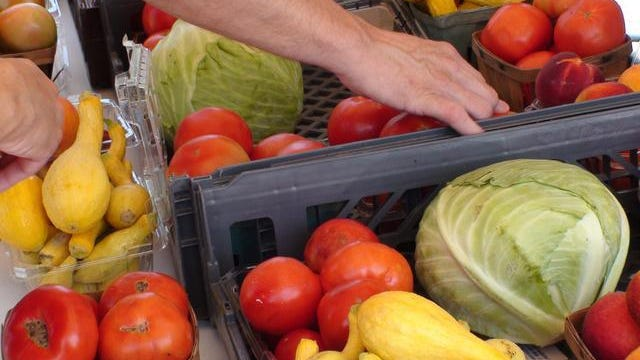 The Concho Valley Farmers Market's thrice-weekly produce sales begin at 7 a.m. Saturday, May 11.